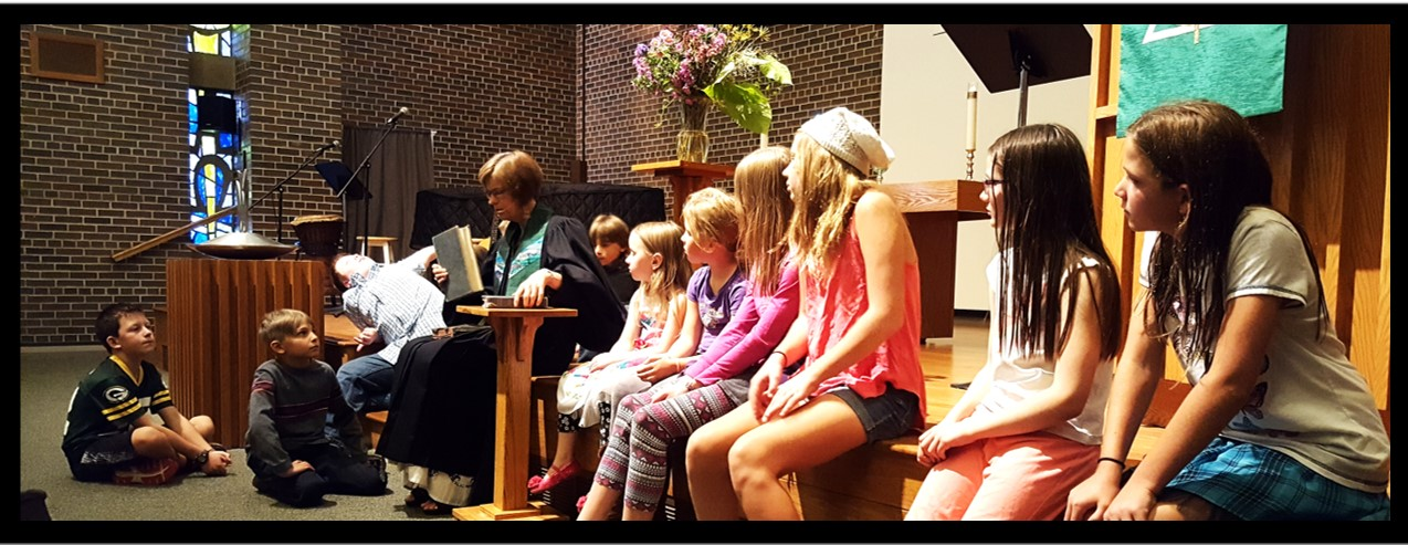 Children's Message during Sunday Worship
